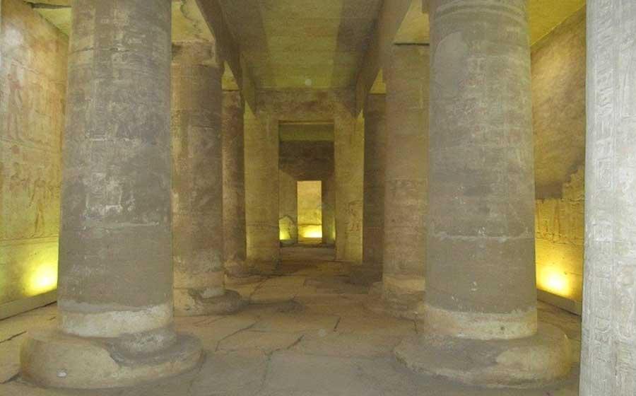 The Hall of Hope dedicated to Osiris