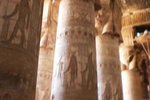 Dagtocht  naar de Hathor - en Isis tempel in Dendera met de wereldberoemde zodiak.