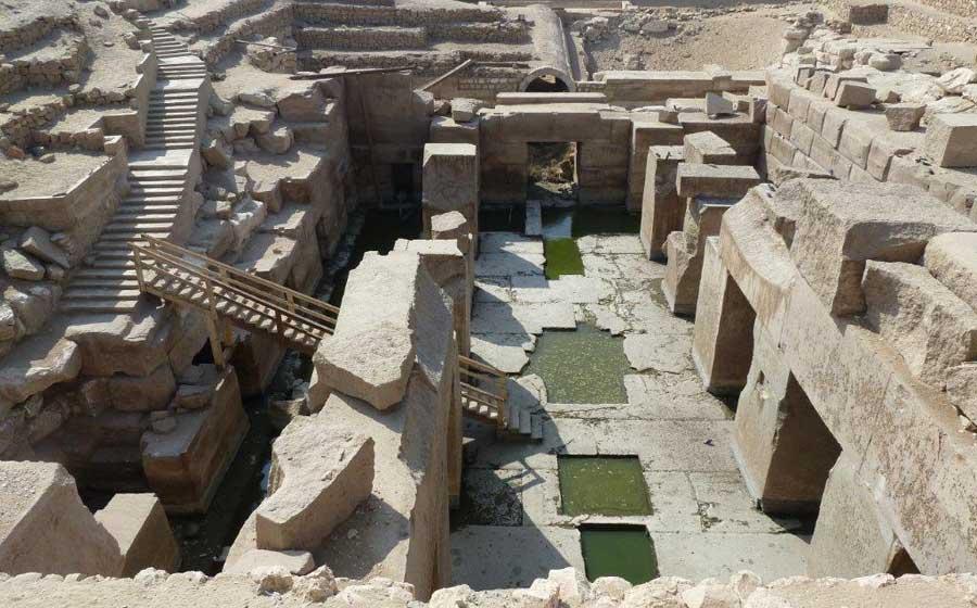 Osirion near house of life abydos
