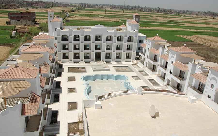 Persbericht, Abcoudenaren starten spiritueel hotel in Egypte